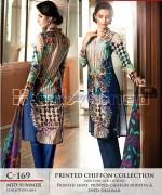 Gul Ahmed La Chiffon Dresses 2014 For Mid Summer 8