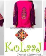 Kolaaj Mid Summer Dresses 2014 For Girls 1