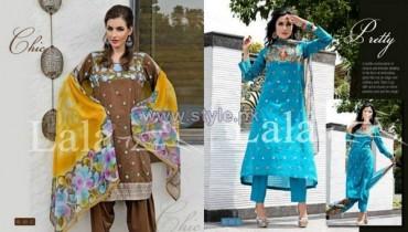 Lala Textiles Sensuous Dresses 2014 For Mid Summer 10