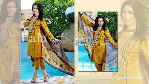 Lala Textiles Sensuous Dresses 2014 For Mid Summer 5