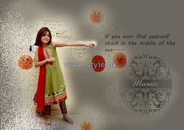 Mosaic by Sundus Formal Dresses 2014 For Kids 1