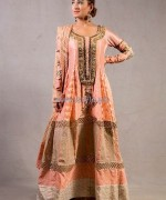 Pink Chiffon Formal Dresses 2014 For Women 6
