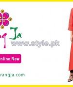 Rang Ja Mid Summer Dresses 2014 For Girls 1