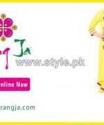 Rang Ja Mid Summer Dresses 2014 For Girls 3