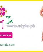 Rang Ja Mid Summer Dresses 2014 For Girls 4