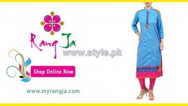 Rang Ja Mid Summer Dresses 2014 For Women 5