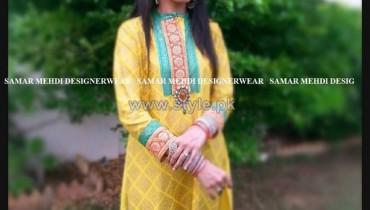 Samar Mehdi Party Dresses 2014 For Women 6