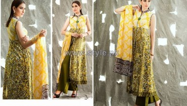 Shariq Textiles Libas Crinkle Lawn Dresses 2014 For Summer 11