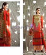 Shariq Textiles Libas Crinkle Lawn Dresses 2014 For Summer 7