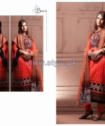 Shariq Textiles Libas Crinkle Lawn Dresses 2014 For Summer 8