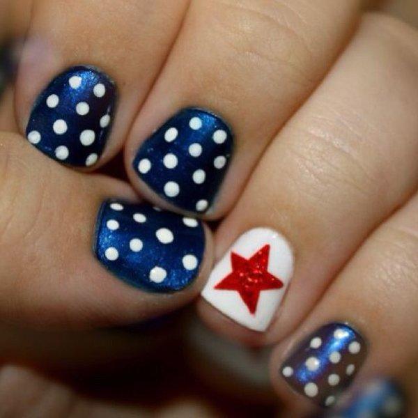 summer nail art designs for short nails 003 stylepk