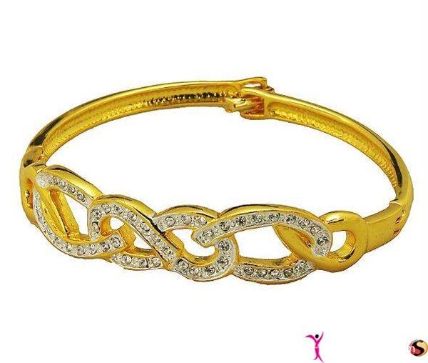 Trends Of Gold Bracelets 2014 For Women 009
