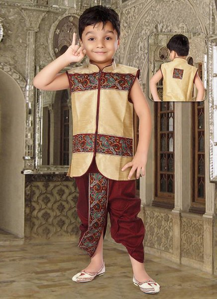 Trends Of Mehndi Dresses 2014 For Kids 001