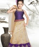 Trends Of Mehndi Dresses 2014 For Kids 0010
