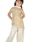 Trends Of Mehndi Dresses 2014 For Kids 002