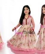 Trends Of Mehndi Dresses 2014 For Kids 006
