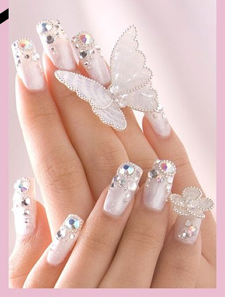 Trends Of Wedding Nail Art Designs 2014 For Women 004