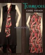 Turquoise Mid Summer Dresses 2014 For Girls 1
