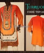 Turquoise Mid Summer Dresses 2014 For Girls 2