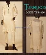 Turquoise Mid Summer Dresses 2014 For Girls 3