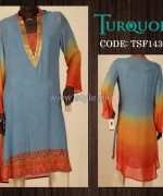 Turquoise Mid Summer Dresses 2014 For Women 6