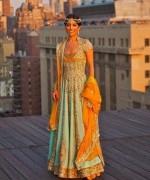 Wedding Anarkali Frocks 2014 For Walima Brides 007