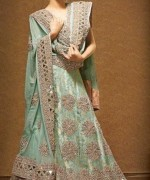 Wedding Anarkali Frocks 2014 For Walima Brides 009
