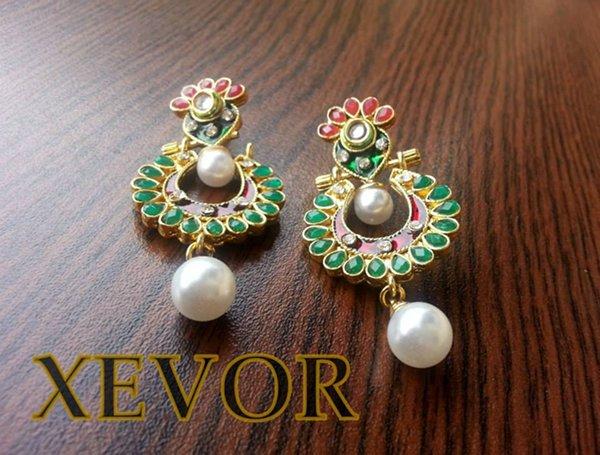 Xevor New Earrings Designs 2014 For Women 003