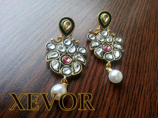 Xevor New Earrings Designs 2014 For Women 008
