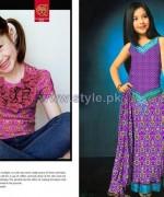 Al-Hamra Textiles Kids Dresses 2014 For Mid Summer 1