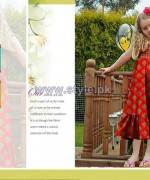 Al-Hamra Textiles Kids Dresses 2014 For Mid Summer 2