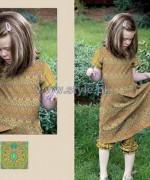 Al-Hamra Textiles Kids Dresses 2014 For Mid Summer 3
