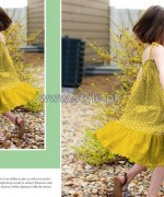 Al-Hamra Textiles Kids Dresses 2014 For Mid Summer 7