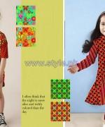 Al-Hamra Textiles Kids Dresses 2014 For Summer 11