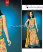 Al-Hamra Textiles Kids Dresses 2014 For Summer 9