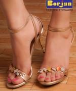 Borjan Eid Ul Azha Footwear Collection 2014 For Women 0011