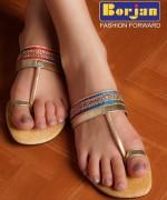 Borjan Eid Ul Azha Footwear Collection 2014 For Women001