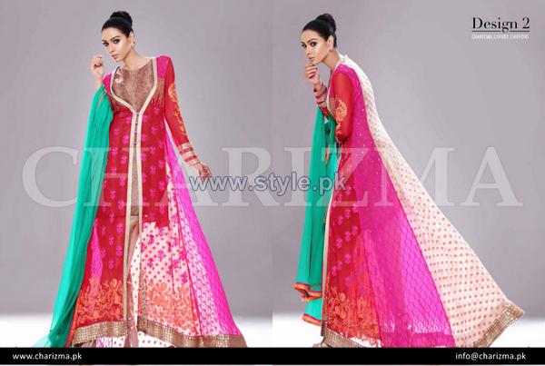 Charizma Chiffon Dresses 2014 For Eid-Ul-Azha 5