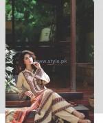 Deeba Designer Embroidered Dresses 2014 by Shariq Textiles 1