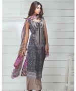Deeba Designer Embroidered Dresses 2014 by Shariq Textiles 3
