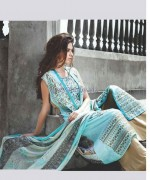 Deeba Designer Embroidered Dresses 2014 by Shariq Textiles 4