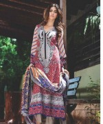 Deeba Designer Embroidered Dresses 2014 by Shariq Textiles 5