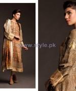 Fahad Hussayn Fall Winter Dresses 2014 For Girls 2