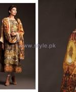 Fahad Hussayn Fall Winter Dresses 2014 For Girls 3