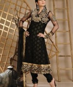 Fashion Of Black Party Dresses 2014 For Women 0011