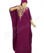 Fashion Of Embroidered Hijabs 2014 For Women 007