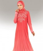 Fashion Of Embroidered Hijabs 2014 For Women 008