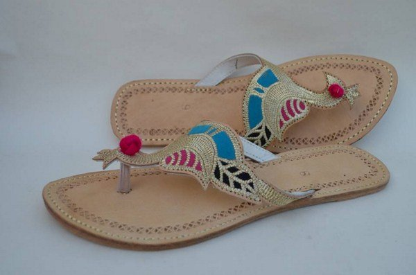 Fashion Of Kolhapuri Shoes 2014 For Women 004