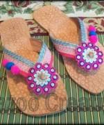 Fashion Of Kolhapuri Shoes 2014 For Women 005