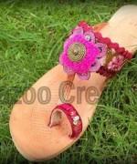 Fashion Of Kolhapuri Shoes 2014 For Women 006